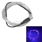 USB Powered 6W LED Light Strip Purple Light 500lm 100-SMD 0603(10M)