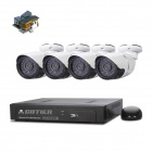 COTIER N4B/Kit-POE 4CH POE NVR Support 960P P2P ONVIF POE IP Camera NVR Kits