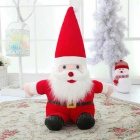 SC40C New Style High Quality Plush Santa Claus Christmas Toy - Red + White