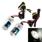 H1 12V 35W 5000K White Light HID Xenon Lamp for Car / Motorcycle - Transparent