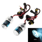 H1 12V 35W 8000K Cool White HID Xenon Lamp for Car / Motorcycle - Transparent