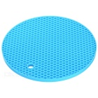Round Anti-slip Insulation Mat - Blue