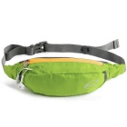 Wind Tour Multifunctional Outdoor Sports Water Resistant Waist Bag w/ Adjustable Strap - Green