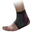 MLD LF1127 Ankle Foot Sports Support Protection Brace Guard Protector - Black + Red (M)