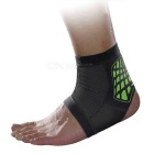 MLD LF1127 Ankle Foot Sports Support Protection Brace Guard Protector - Black + Green (L)