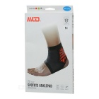 MLD LF1127 Ankle Foot Protection Brace Protector - Black + Green (L)