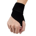 MLD LF-1107 High Elastic Sports Wristband for Hiking / Cycling - Black