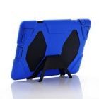 Protective Silicone Back Case Cover for IPAD 2 / 3 / 4 - Deep Blue