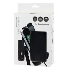 USB Car Charger & Cellphone Holder for Samsung, HTC + More - Black