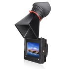 """FEELWORLD E350 3.5"""" EVF Electronic Viewfinder w/ HDMI Input & Output - Black"""