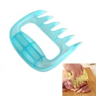 Claw Steak Meat Auxiliary Device Safety Hand Protection - Light Blue