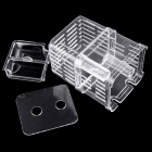 Incubator Juvenile Fish Reproduction Isolation Box - Transparent (L)