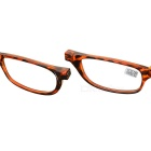 OULAIOU 3.0 Diopter Folding Neck-Wear Reading Glasses - Leopard