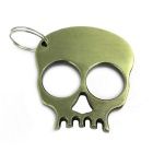 Skeleton Style Steel Survive Hammer Keychain - Bronze
