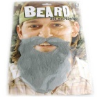 Holiday Role Play Interesting Plush Beard - Grey