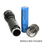 60lm White Light XP-E Q5 1-LED Super Bright Flashlight Torch - Black