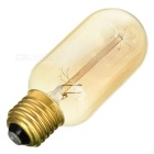 E27 40W 600lm Tungsten Filament Bulb Lamp Warm White Light 3500K