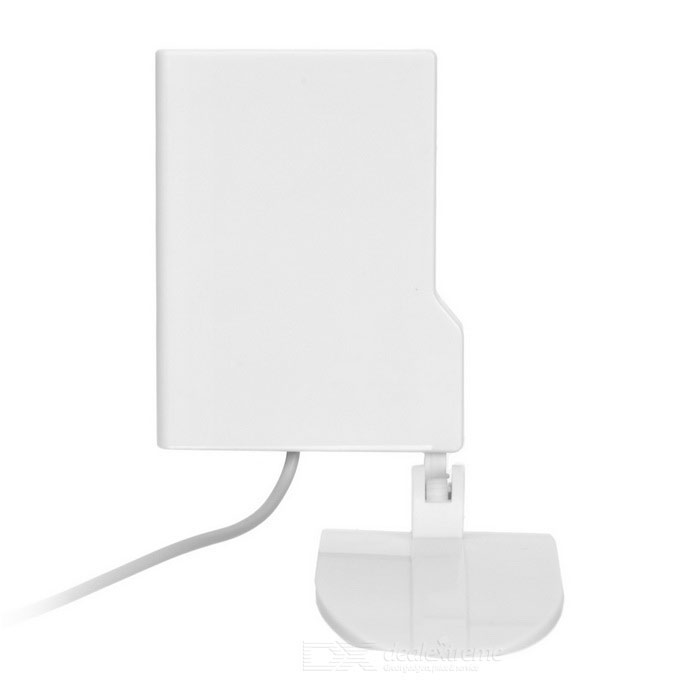 2.4GHz 9dBi Wi-Fi Indoor Directional Antenna w/ SMA Plug - White