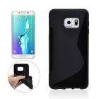 Angibabe Back Case for Samsung Galaxy S6 Edge Plus G9280 - Black
