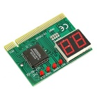 Jtron PC POST Diagnostic Test Card Motherboard Analyzer for PCI 2 Digits - Green