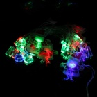 3W 20-LED RGB Merry Christmas Decorative String Light - Red (4m)