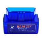 Oldshark Super Mini ELM327 Bluetooth OBD2 V2.1 Car Diagnostic Interface Tool - Blue