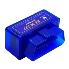 Oldshark Mini ELM327 Bluetooth OBD2 V2.1 Car Diagnostic Tool - Blue