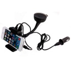 Bluetooth V3.0 + EDR carro telefone titular MP3 player transmissor FM - preto
