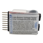 Lithium Battery Voltage Tester Low Voltage Buzzer Alarm