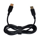 Laptop USB Charging Cable for Lenovo Yoga 3 Pro - Black