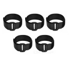 Velcro Straps for Model Aircraft Battery - Black (5PCS)