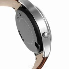 "Impermeable Bluetooth V3.0 MTK6260A Smart Watch w / 1.22"" IPS - Plata"