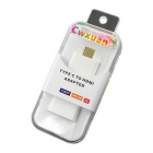 Cwxuan USB 3.1 Type-C Male to HDMI Female 4K x 2K Adapter - White