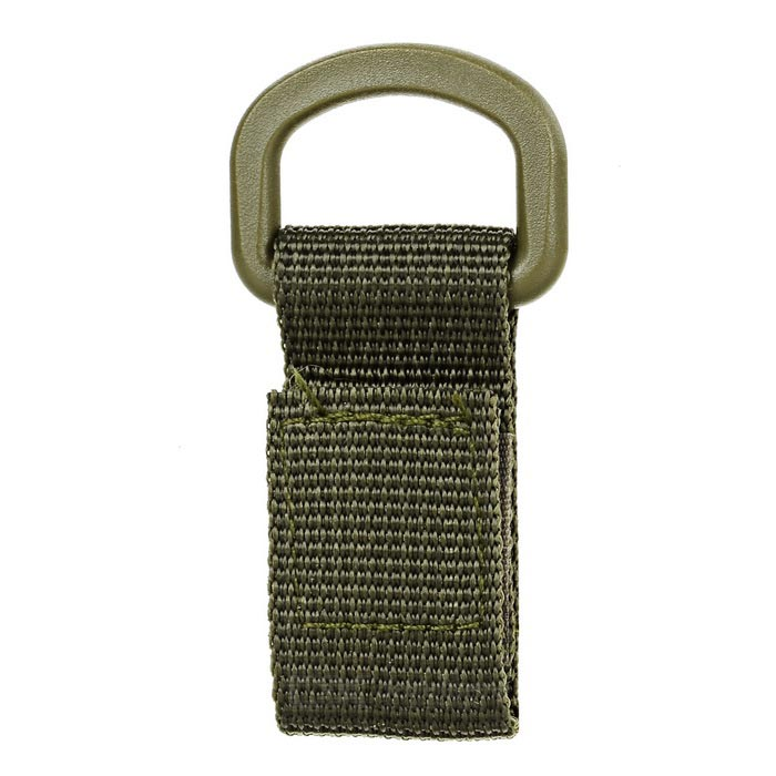 FURA Outdoor Tactical Webbing Belt Hanging Buckle Ring - Army Green