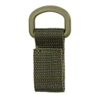 Outdoor Tactical Webbing Belt Hanging Buckle Ring - Army Green