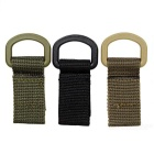 FURA Outdoor Tactical Webbing Belt Hanging Buckle Ring (3PCS)