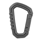 Outdoor Plastic Steel Quick Release Carabiner - Green (M)
