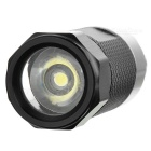 Mini Car Cigarette Lighter Flashlight w/ 0.5W White Light LED - Black