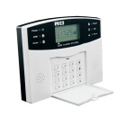 AG-security LCD GSM SMS Home Security Alarm System Kit - White + Black