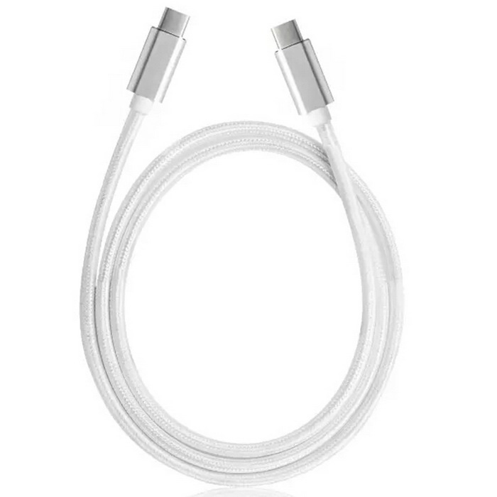 USB 3.1 type C data & charge cable pour nouveau MACBOOK - argent (1m)
