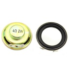 Jtron 2W 34mm 4ohm Loudspeaker - Copper (2PCS)