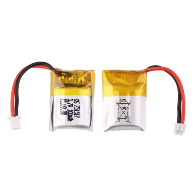 3.7V 100mAh Lipo Battery for Quadcopter Drone Cheerson CX10 - Silver