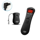 LCD Wireless Time Lapse Intervalometer Remote Control Timer Shutter Release for Canon 7D 6D 5D2 5D3