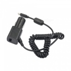 Spring USB 3.1 Type-C 5V 2A Car Charger Cable - Black (110cm)