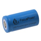 FocusPower 3.7V 600mAh 16340 Rechargeable Lithium-ion Battery - Blue