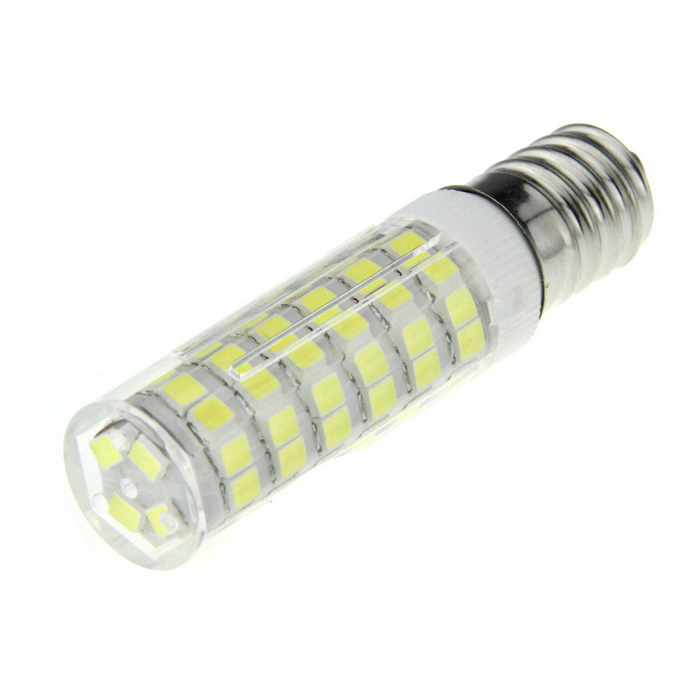 Ultrafire E14 9W LED Light Lamp Cold White 6500K 1100lm 76-SMD 2835
