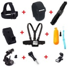 11-In-1 Outdoor Sports Camera Accessories Kit for GoPro Hero4 Session /4 / 3+/ 3 /2/ SJCam/Xiaoyi