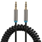 VENTION 3.5mm Male to Male Audio Cable - Black + Silver (135m)