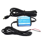 Jtron 12~24V 1A Car DVR Dedicated Power Supply Box Buck Cable - Black