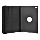 Patterned Protective PU Case w/ Rotary Stand for IPAD MINI 4 - Black
